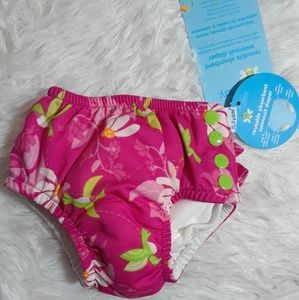 I Play Reusable Absorbant Swimsuit Diaper-6 Months